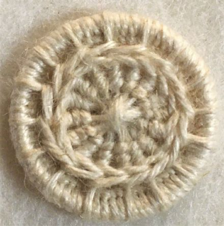 Dorset Button Kit - Daisy Chain Design, Natural (plant fibre)